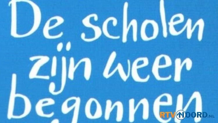 De scholen zijn weer begonnen!!!